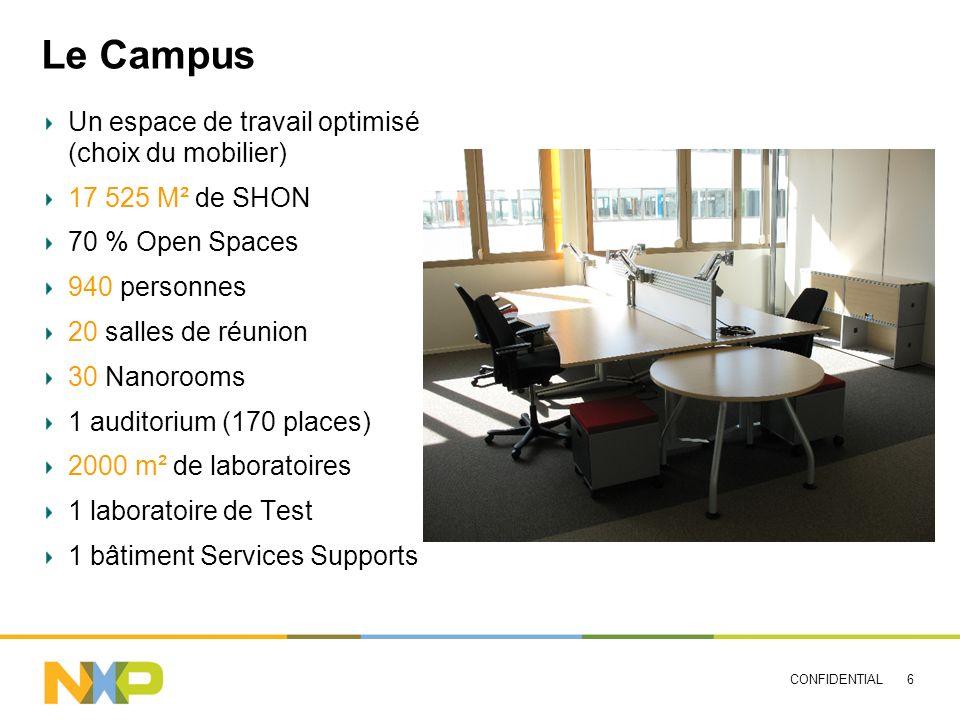 Le Campus Un espace de travail optimisé (choix du mobilier)