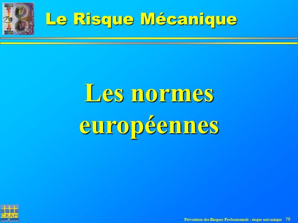 Les normes européennes