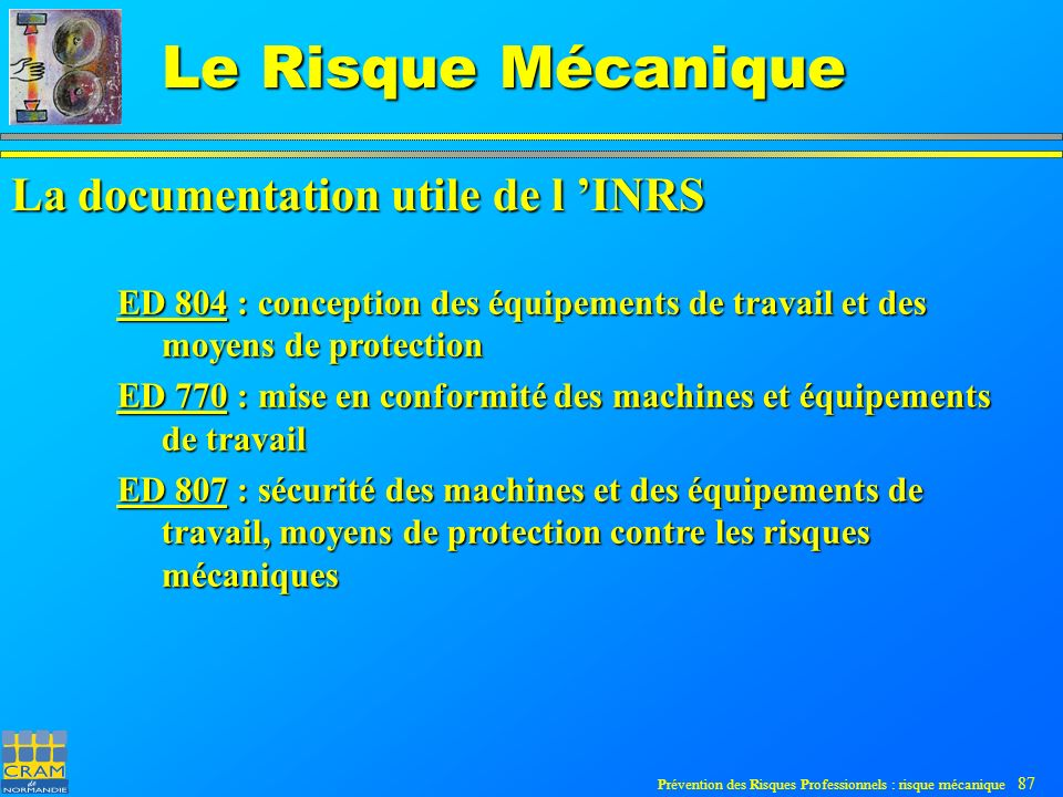 La documentation utile de l 'INRS