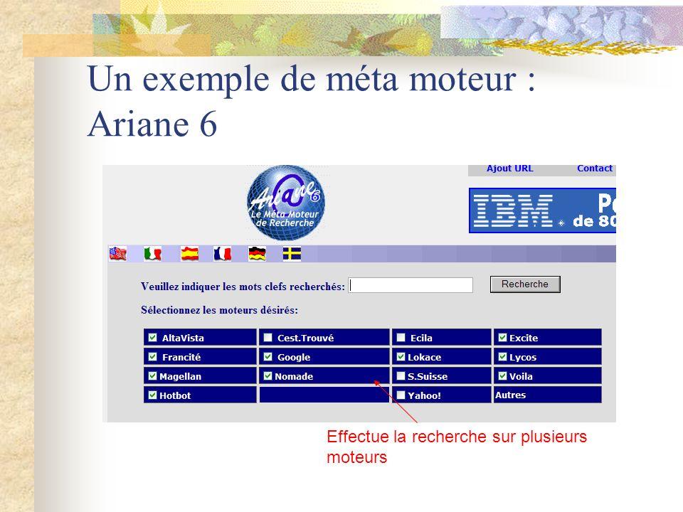 Un exemple de méta moteur : Ariane 6