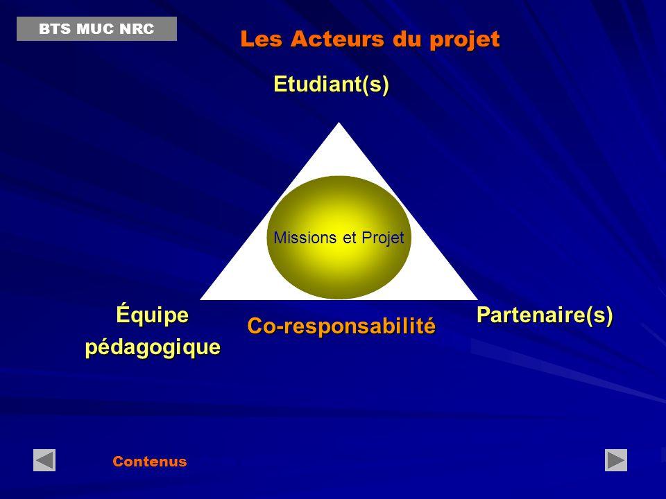 Équipe pédagogique Partenaire(s) Co-responsabilité