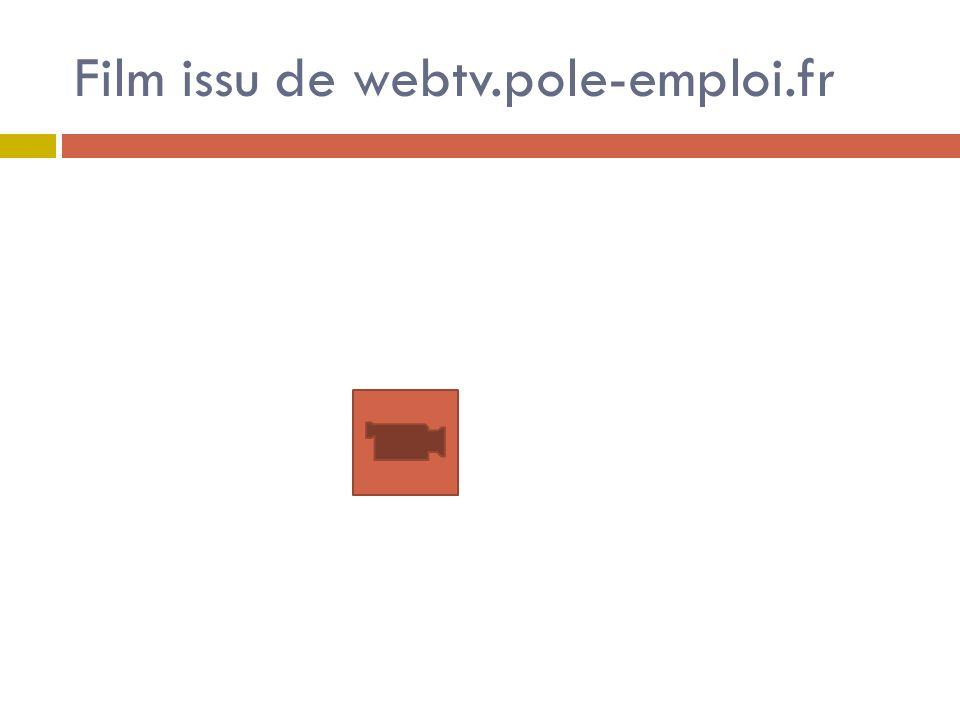Film issu de webtv.pole-emploi.fr
