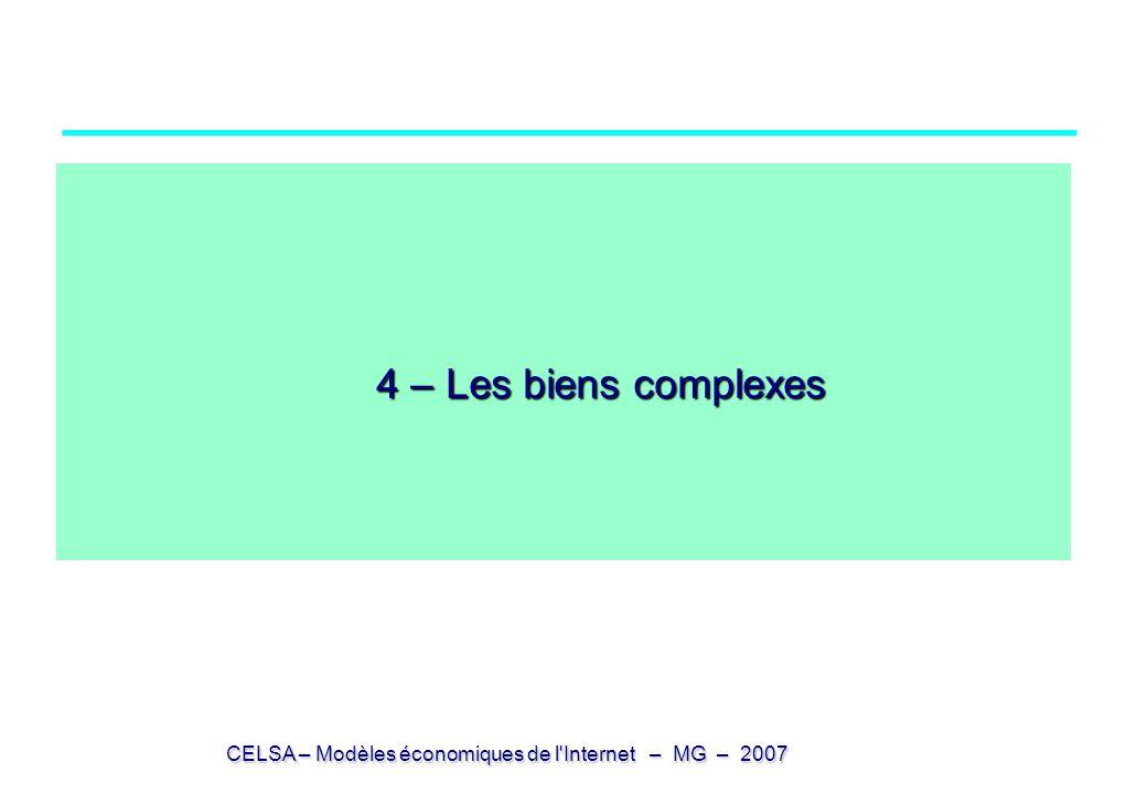 4 – Les biens complexes