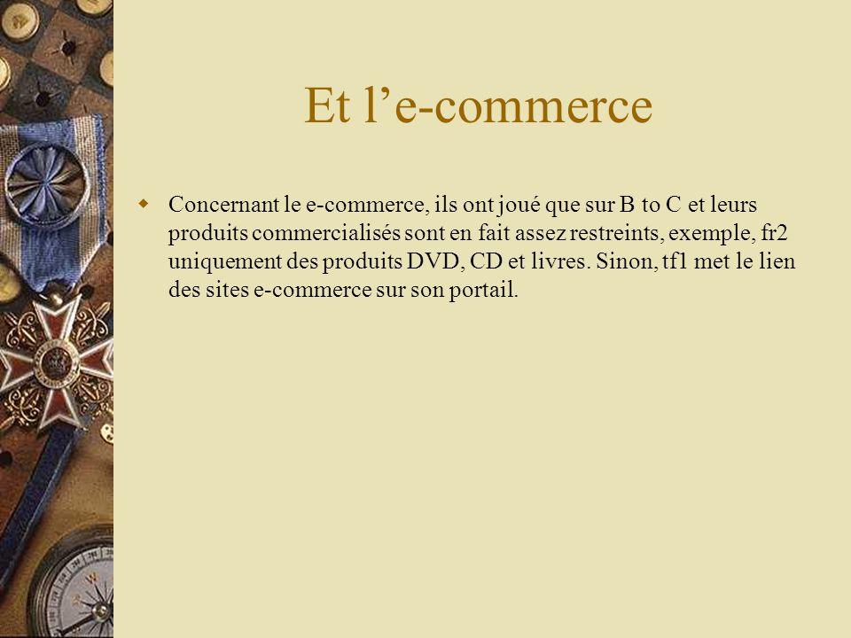 Et l'e-commerce