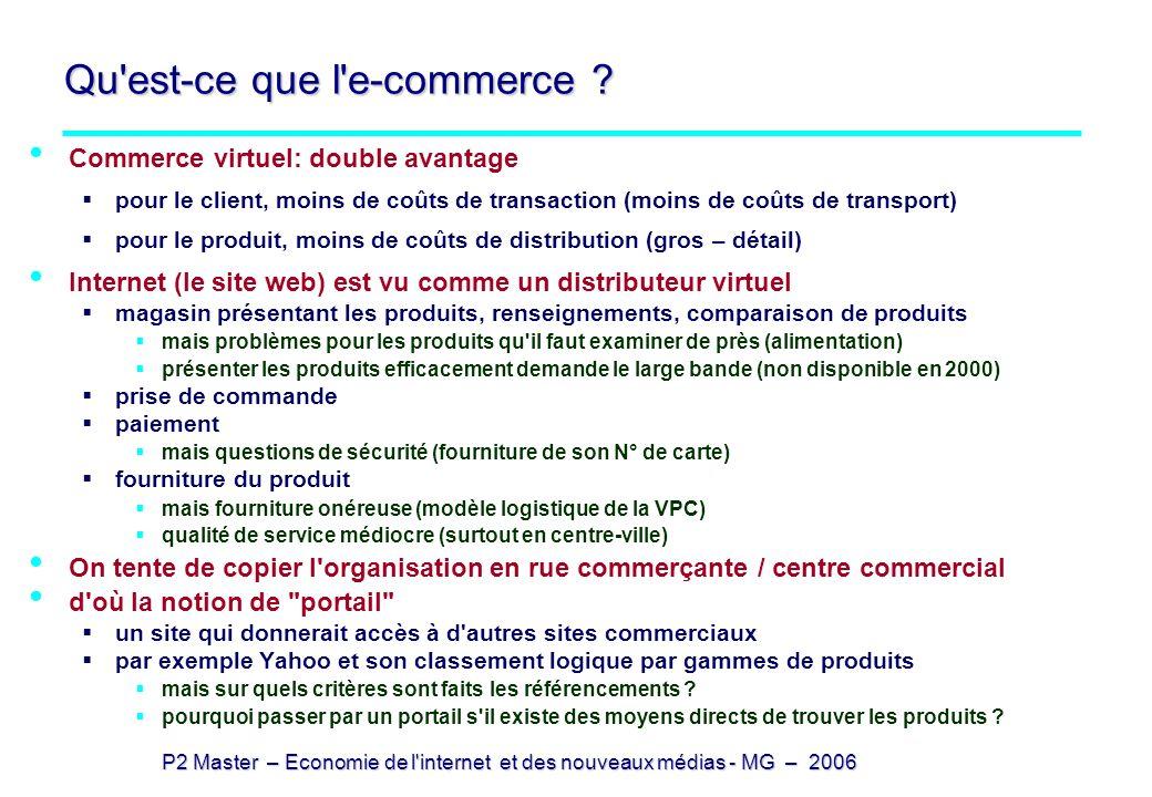 Qu est-ce que l e-commerce