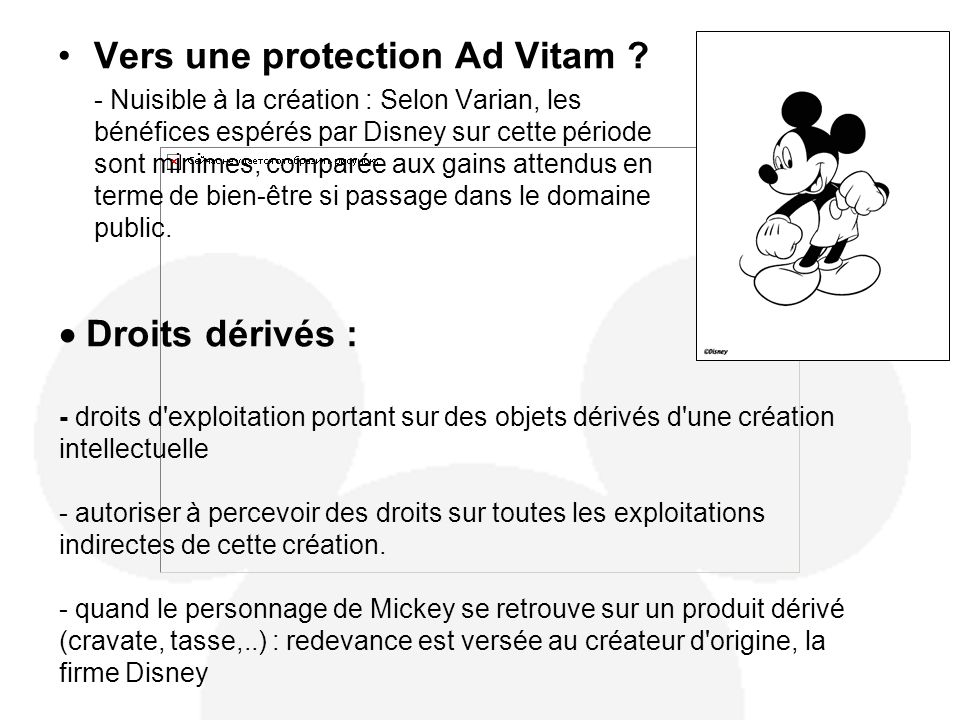 Vers une protection Ad Vitam