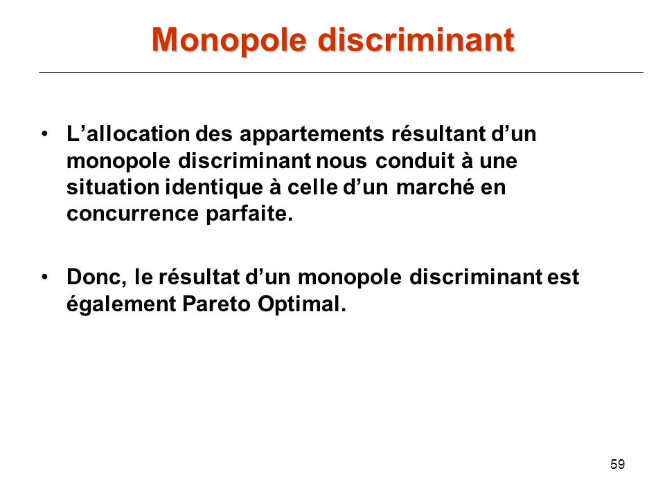 Monopole discriminant