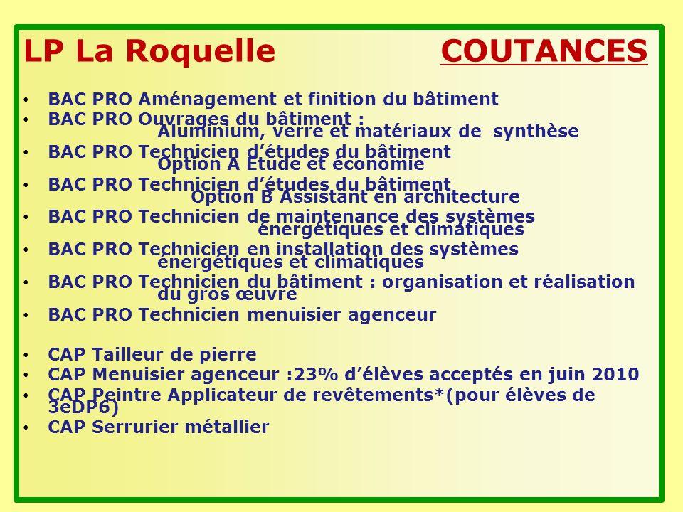 LP La Roquelle COUTANCES