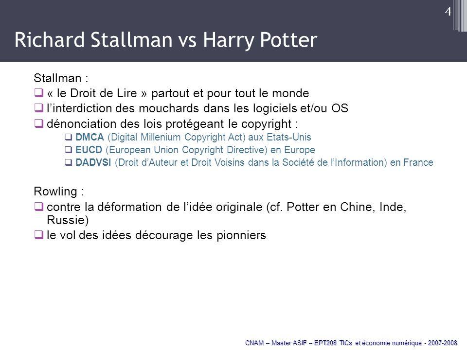 Richard Stallman vs Harry Potter