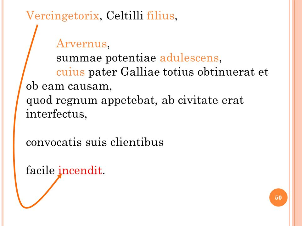 Vercingetorix, Celtilli filius,