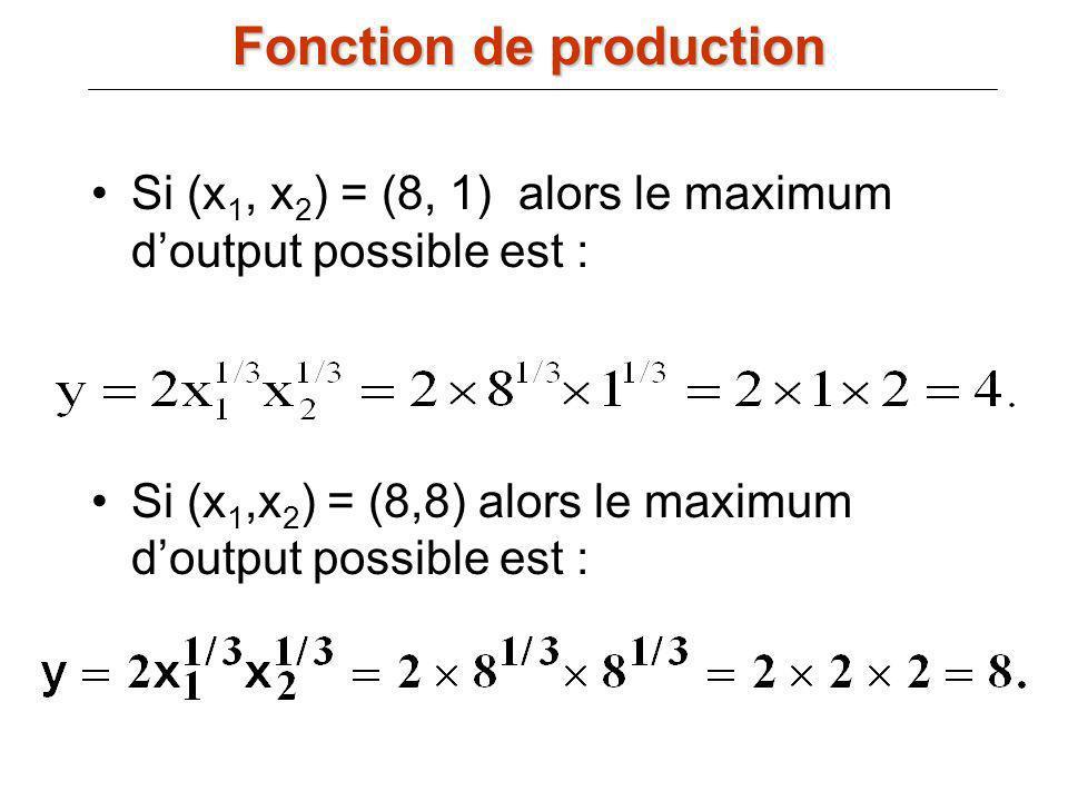Fonction de production