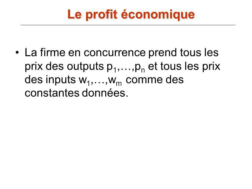 Le profit économique