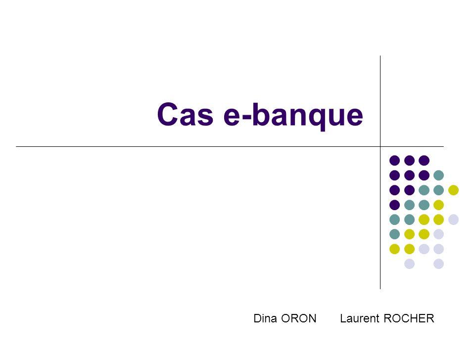 Cas e-banque Dina ORON Laurent ROCHER