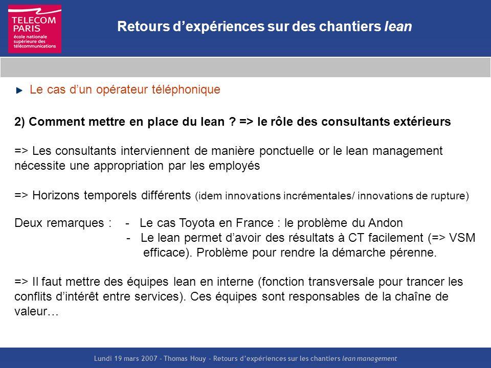 Retours D Exp 233 Riences Sur Des Chantiers Lean Management Ppt Video Online T 233 L 233 Charger