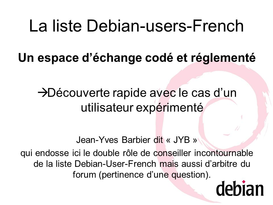 La liste Debian-users-French