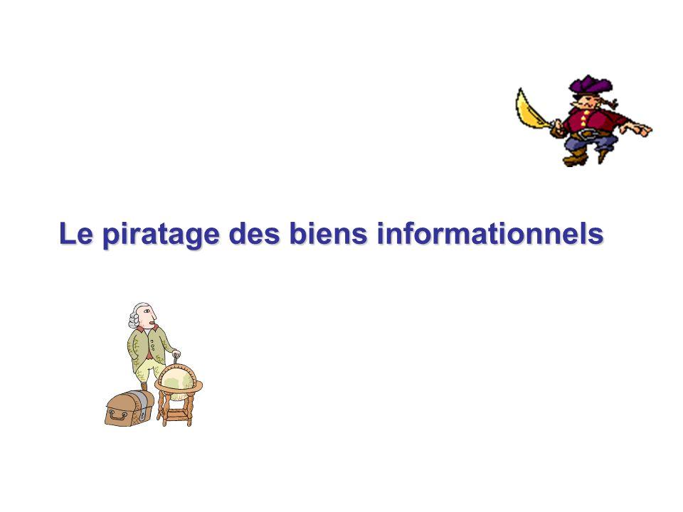 Le piratage des biens informationnels