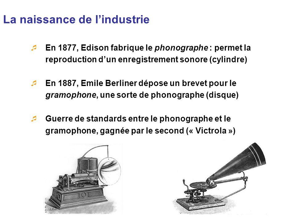 La naissance de l'industrie