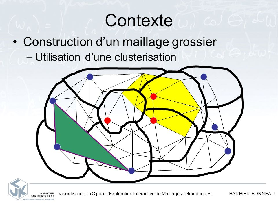 Contexte Construction d'un maillage grossier