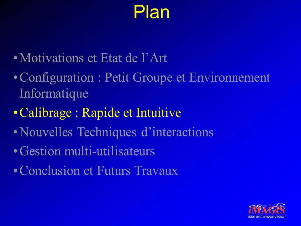 Plan Motivations et Etat de l'Art