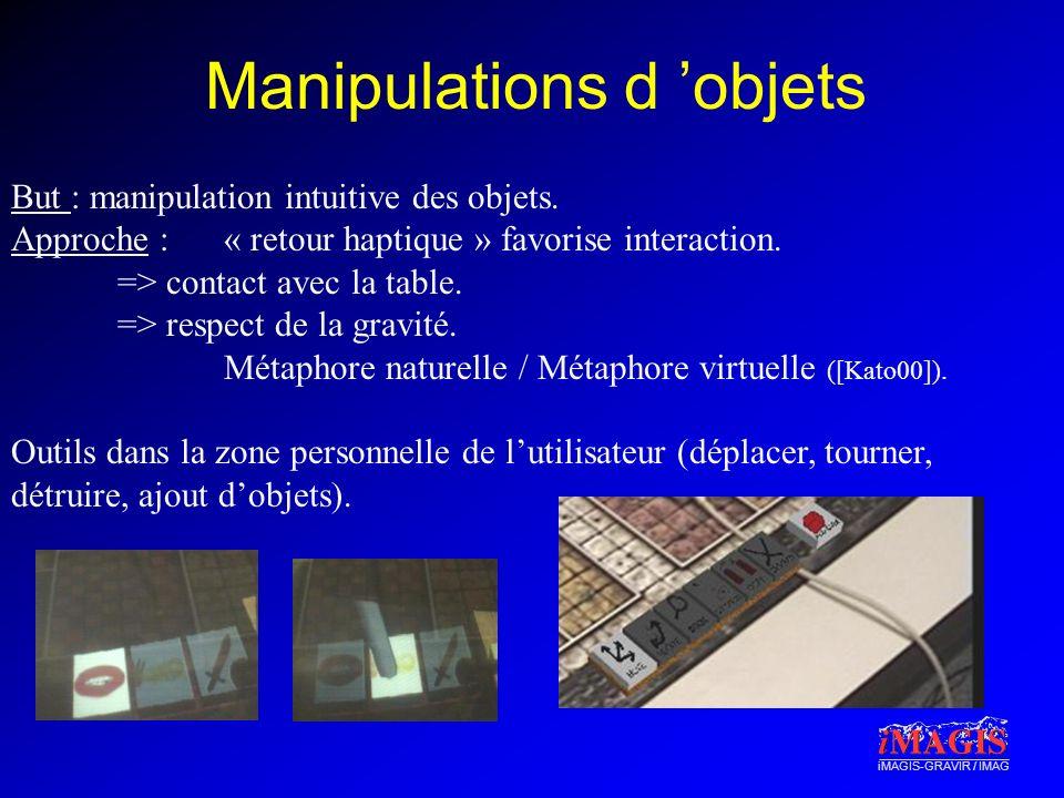 Manipulations d 'objets