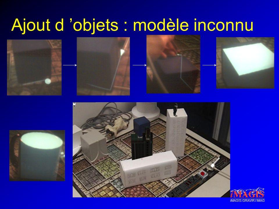 Ajout d 'objets : modèle inconnu