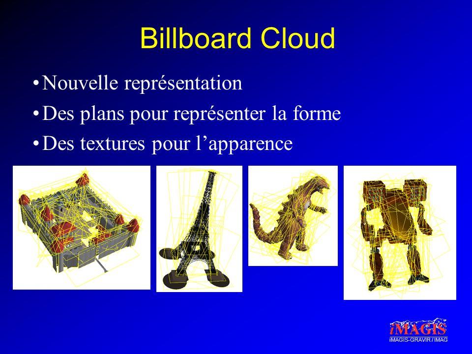 Billboard Cloud Nouvelle représentation