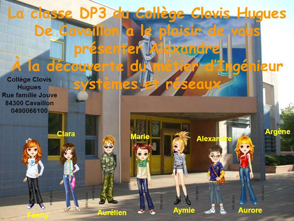 La classe DP3 du Collège Clovis Hugues