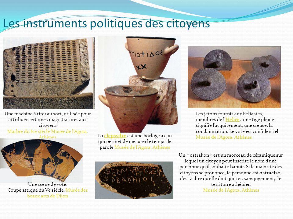 Les instruments politiques des citoyens