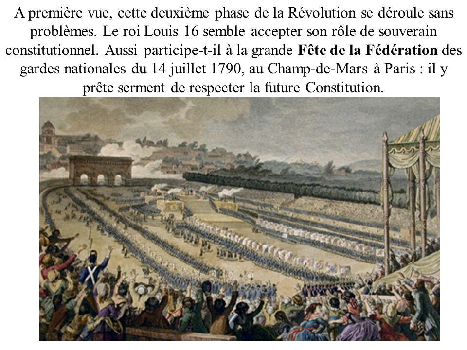 A première vue, cette deuxième phase de la Révolution se déroule sans problèmes.
