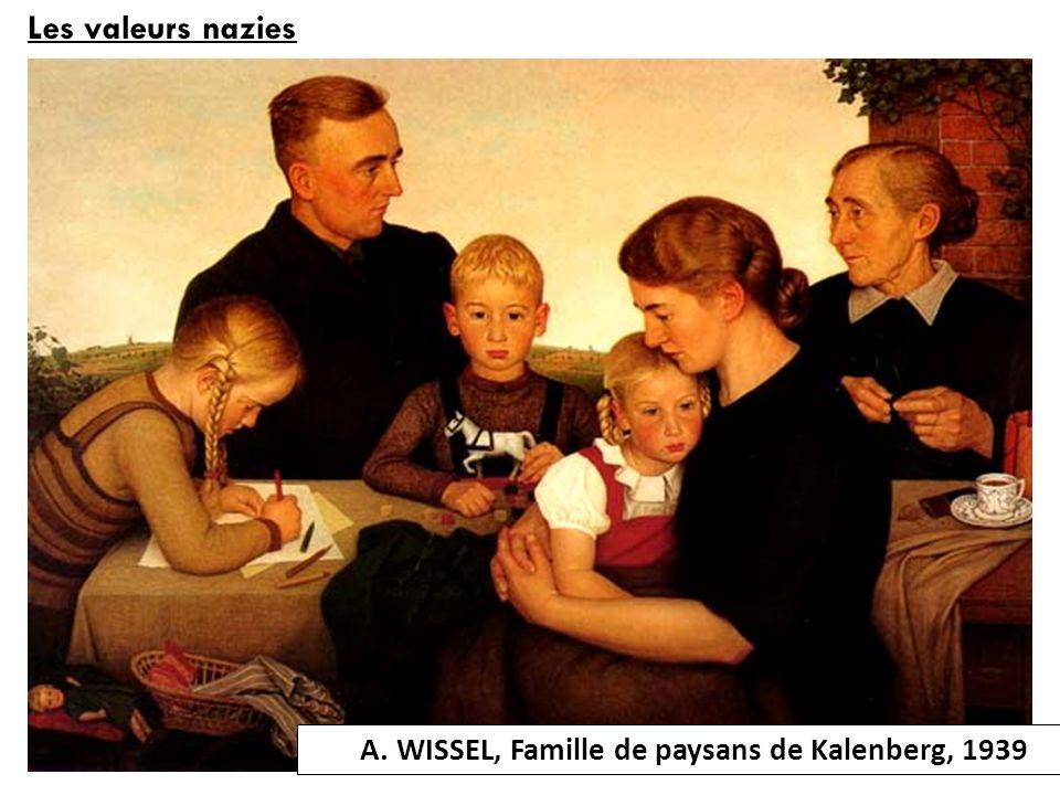 Les valeurs nazies A. WISSEL, Famille de paysans de Kalenberg, 1939