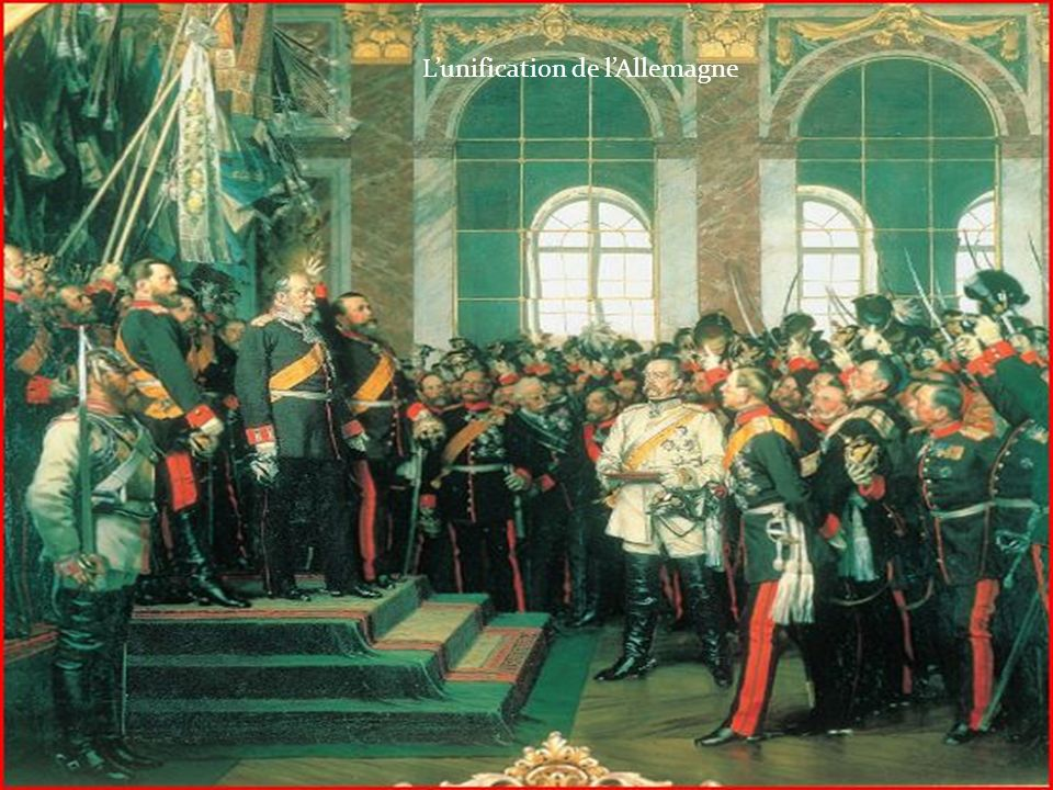 L'unification de l'Allemagne