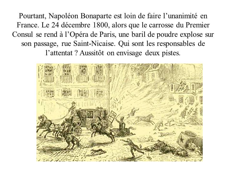 Pourtant, Napoléon Bonaparte est loin de faire l'unanimité en France