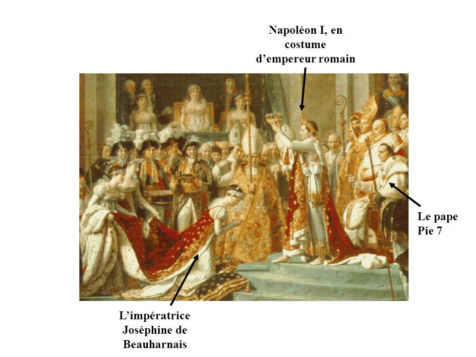 Napoléon I, en costume d'empereur romain