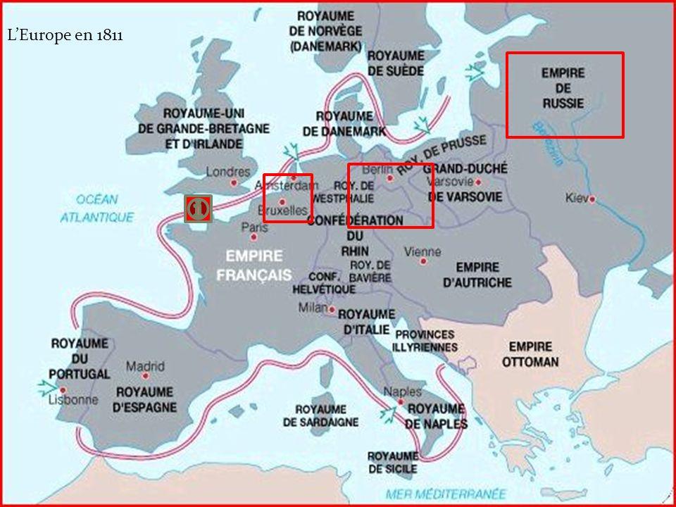 L'Europe en 1811