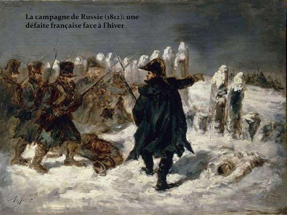 La campagne de Russie (1812): une défaite française face à l'hiver