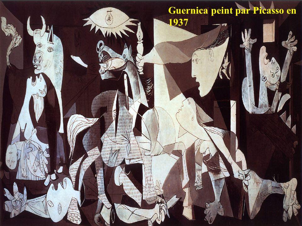 Guernica peint par Picasso en 1937