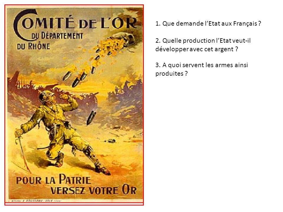 1. Que demande l'Etat aux Français