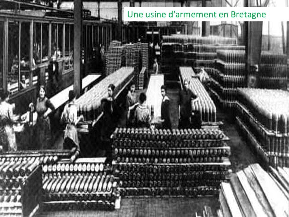 Une usine d'armement en Bretagne