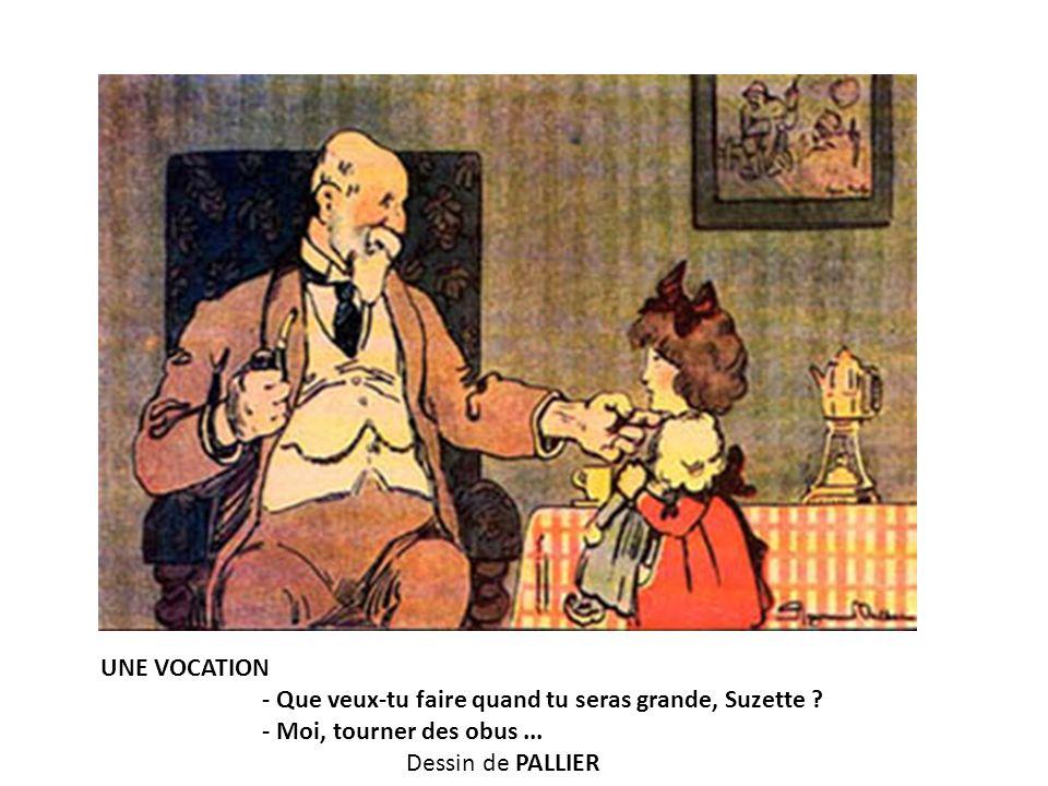 UNE VOCATION - Que veux-tu faire quand tu seras grande, Suzette