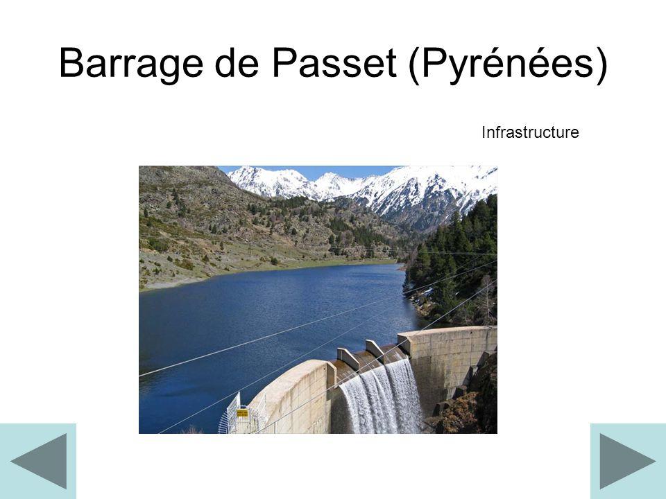 Barrage de Passet (Pyrénées)