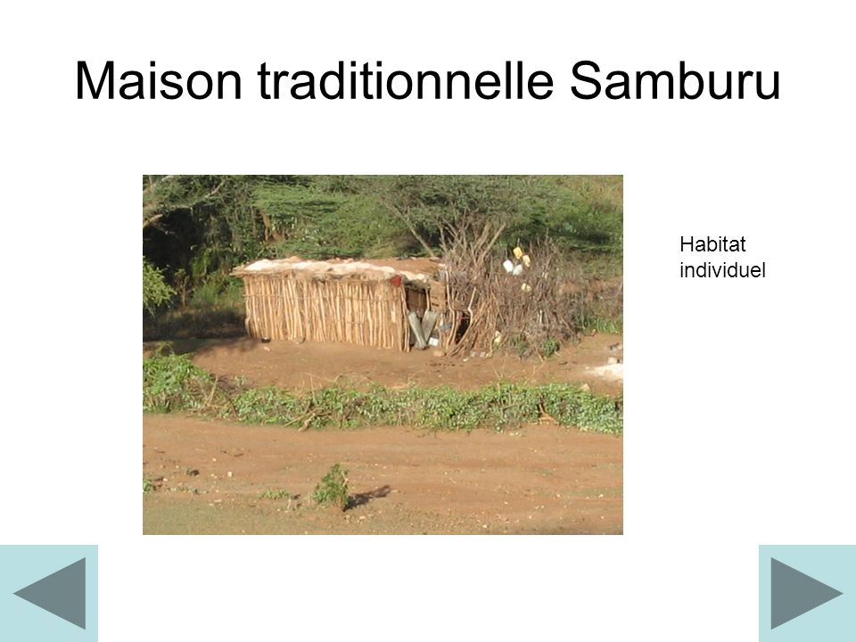 Maison traditionnelle Samburu