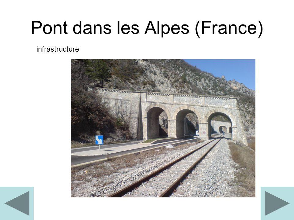 Pont dans les Alpes (France)
