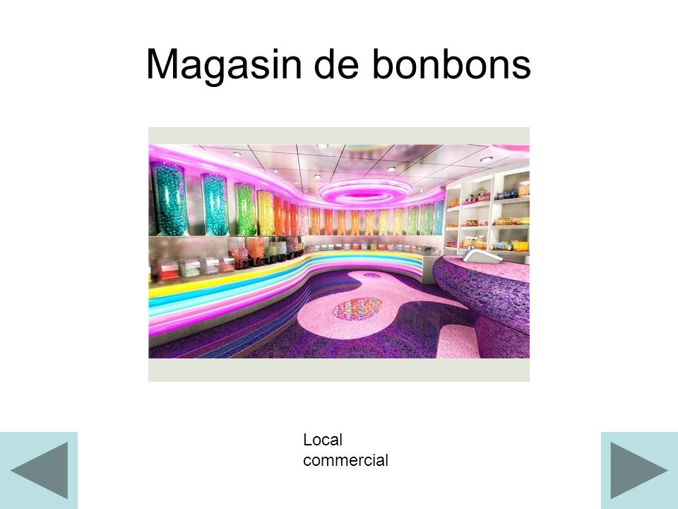 Magasin de bonbons Local commercial