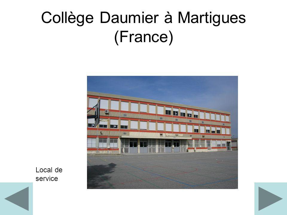 Collège Daumier à Martigues (France)