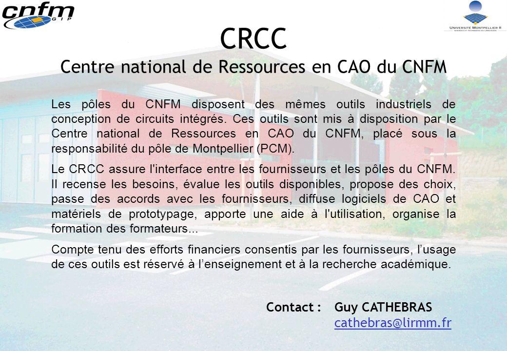 CRCC Centre national de Ressources en CAO du CNFM