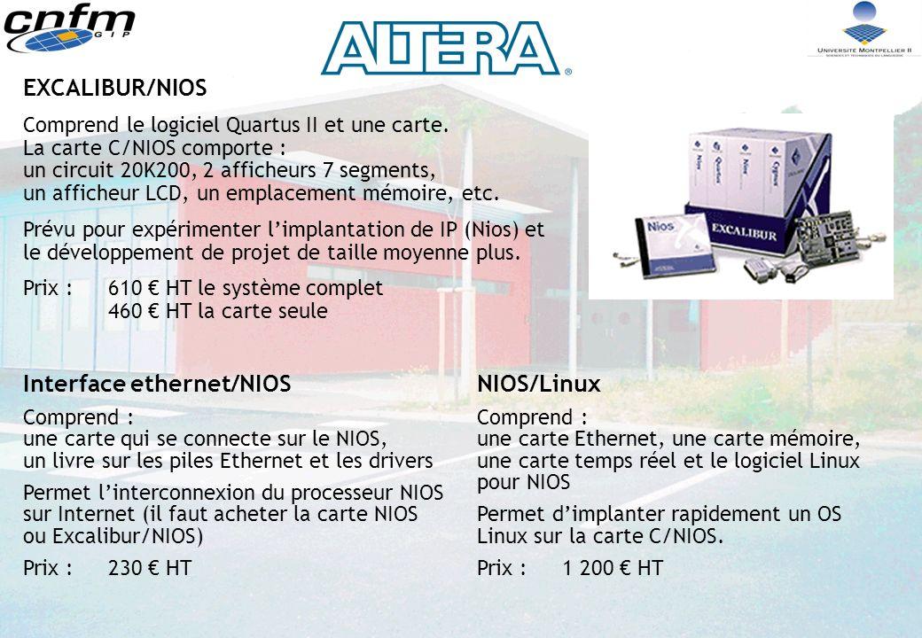 Interface ethernet/NIOS NIOS/Linux