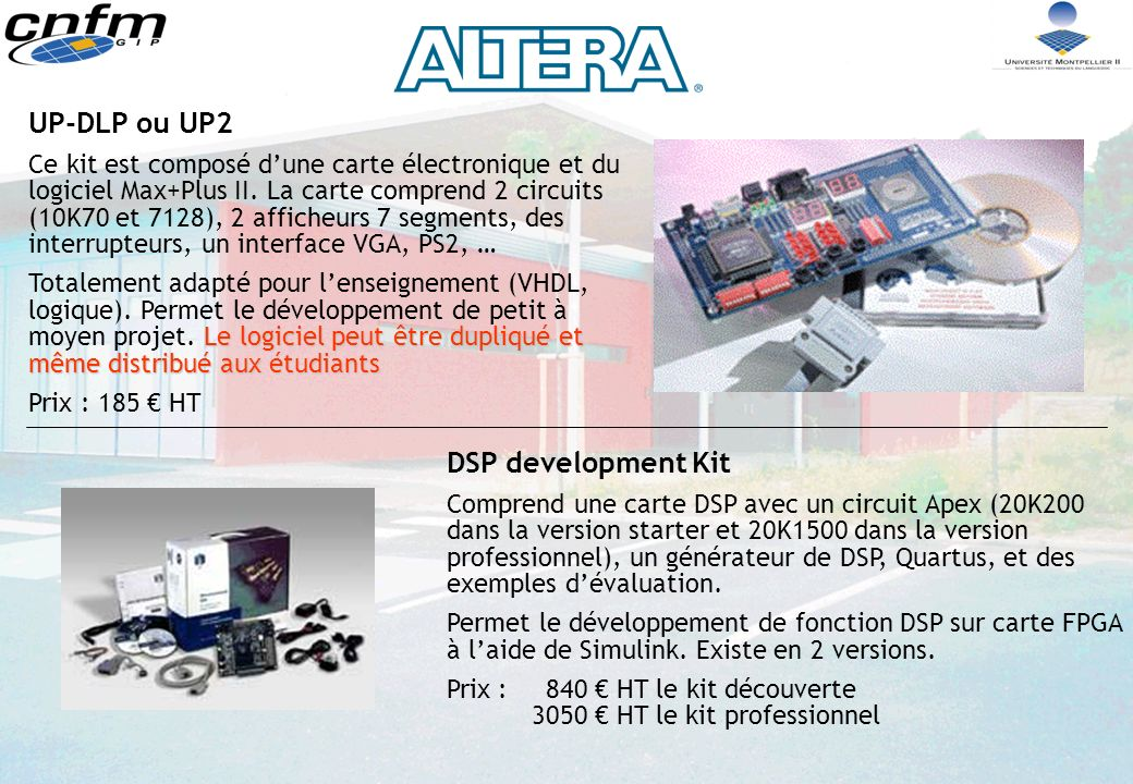 UP-DLP ou UP2 DSP development Kit