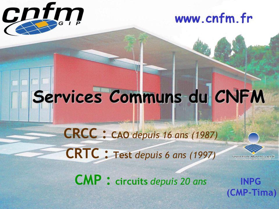 Services Communs du CNFM