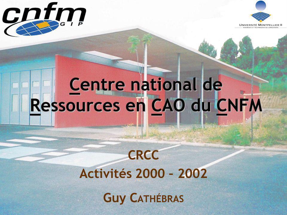 Centre national de Ressources en CAO du CNFM