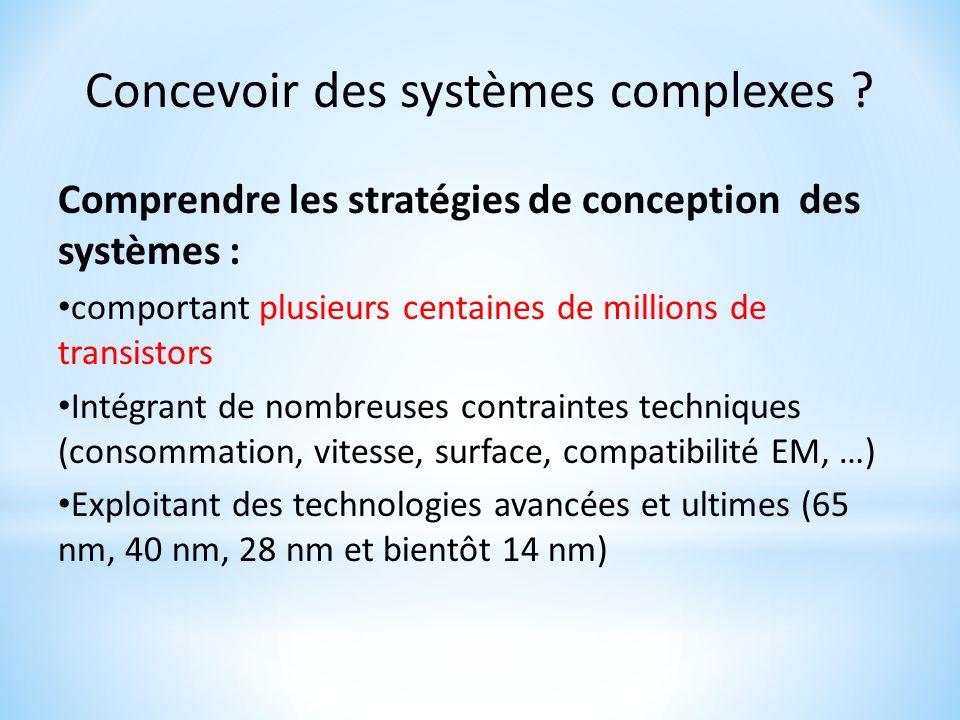 Concevoir des systèmes complexes